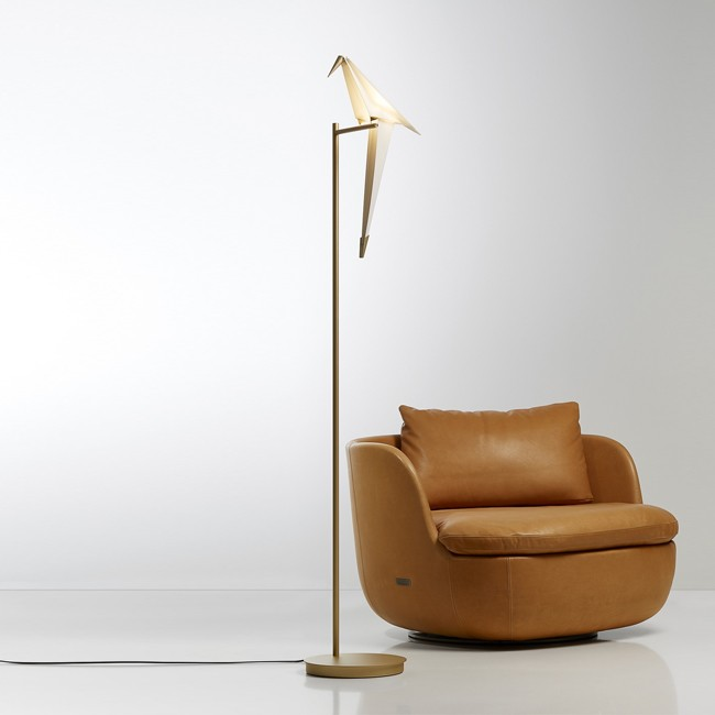 Moooi vloerlamp Perch Light Floor door Umut Yamac