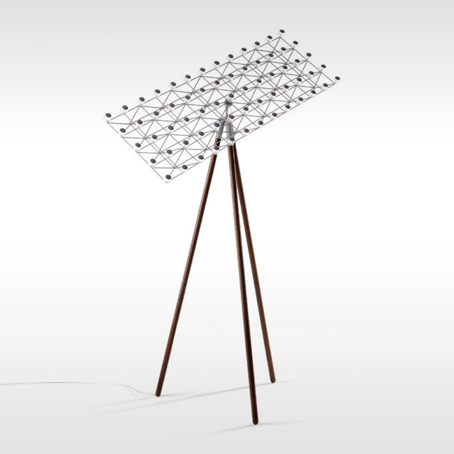Moooi Vloerlamp Space-Frame Floor Door Marcel Wanders | Designlinq.nl