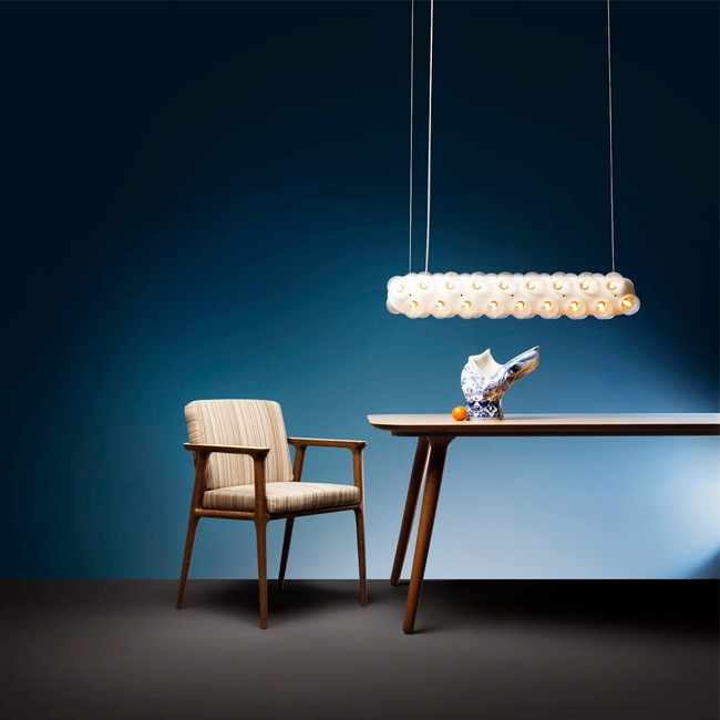 Moooi hanglamp Prop Light Double Horizontal door Bertjan Pot