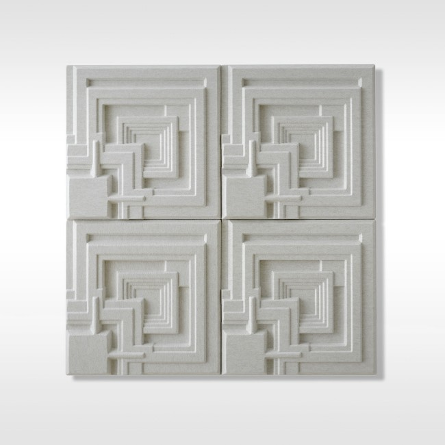 Offecct akoestisch wandpaneel Soundwave® Ennis door Frank Lloyd Wright