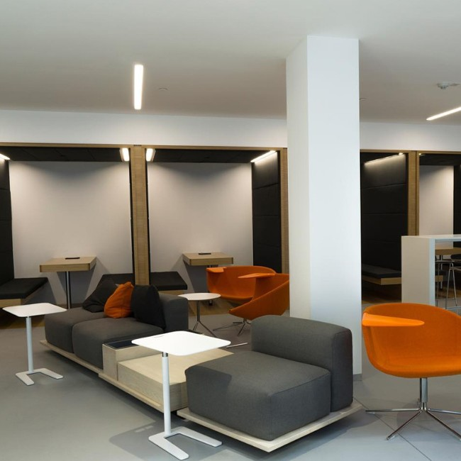 Offecct bank Meet O2asis Sofa 1-zits door Fattorini+Rizzini+Partners