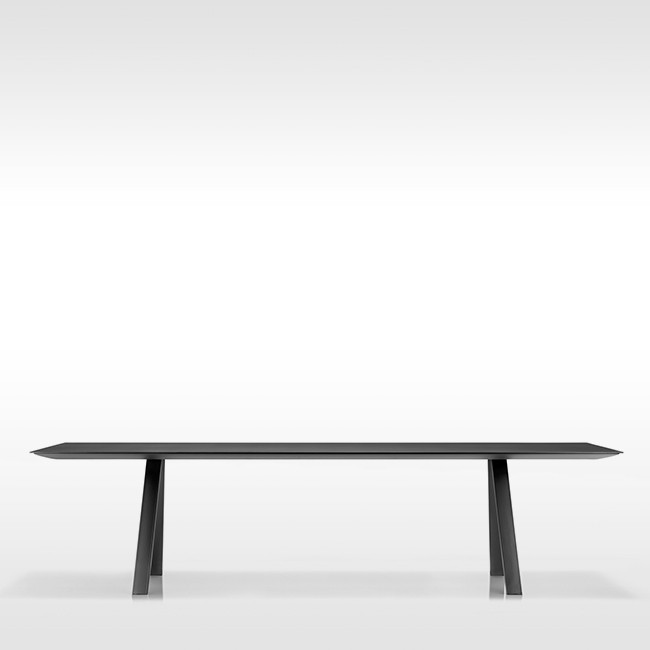 Pedrali tafel Arki Table Black door Pedrali R&D