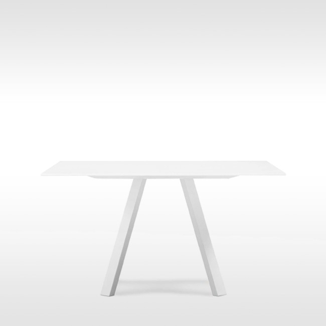 Pedrali tafel Arki Table Square White door Pedrali R&D