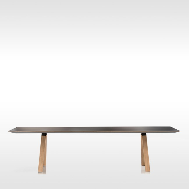 Pedrali tafel Arki Table Wood Fenix MP van Pedrali R&D