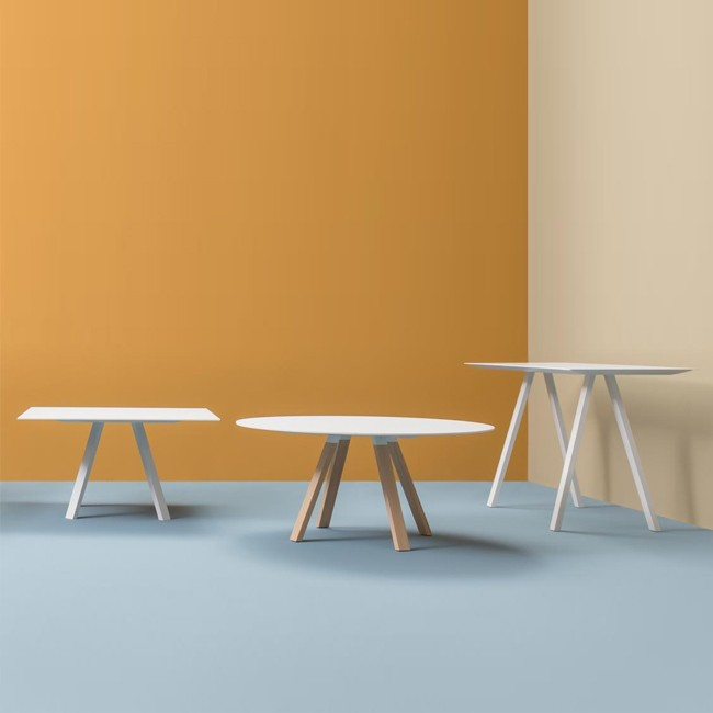 Pedrali tafel Arki Table Wood Square van Pedrali R&D