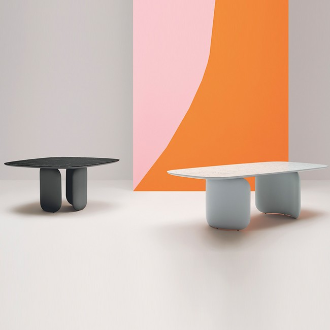 Pedrali tafel Elinor Table door Claudio Bellini