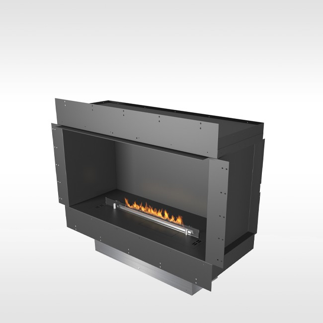 Planika bio-ethanol haard Forma Single-Sided door Planika Fires