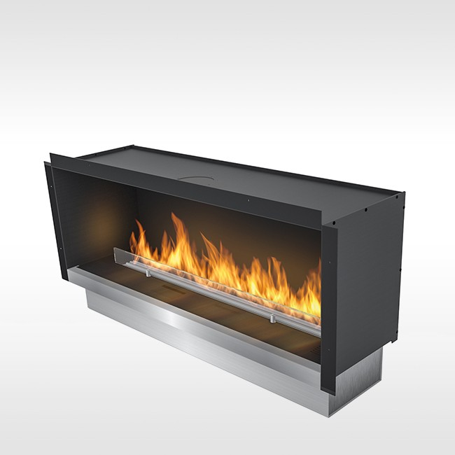 Planika bio-ethanol haard Fire Line Automatic FLA 2 model E in Casing E door Planika Fires