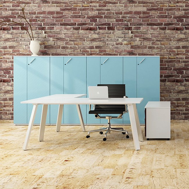Raio bureau Endow Y (antraciet onderstel) door Raio Design Studio
