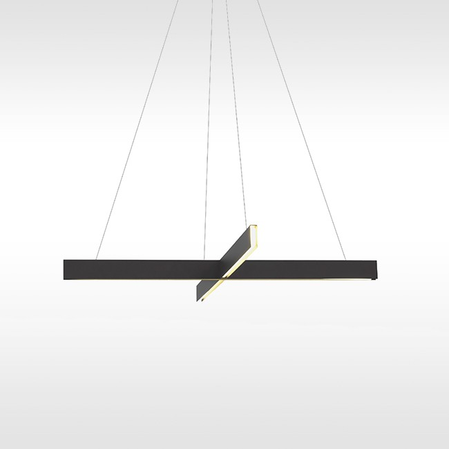 Resident hanglamp Cross Pendant Black door Resident Studio