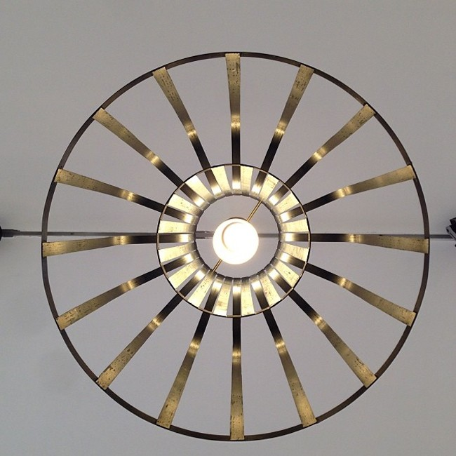 Resident hanglamp Fibre Light Funnel door Jamie McLellan