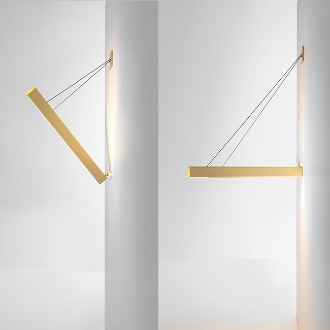 Resident wandlamp V Wall Light door Resident Studio