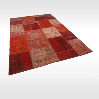 REused vloerkleed Orient Pepper Red door LEOXX