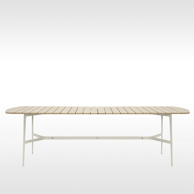 SP01 tafel Eileen Dining Table Accoya door Tom Fereday