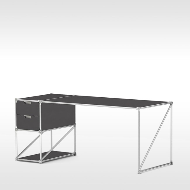 System 180 bureau Desk 40186 SteelLine door System 180