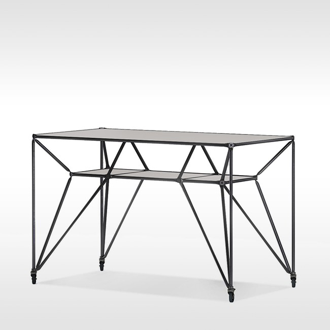 System 180 hoge tafel Design Thinking Line® Table T4 BlackLine door System 180