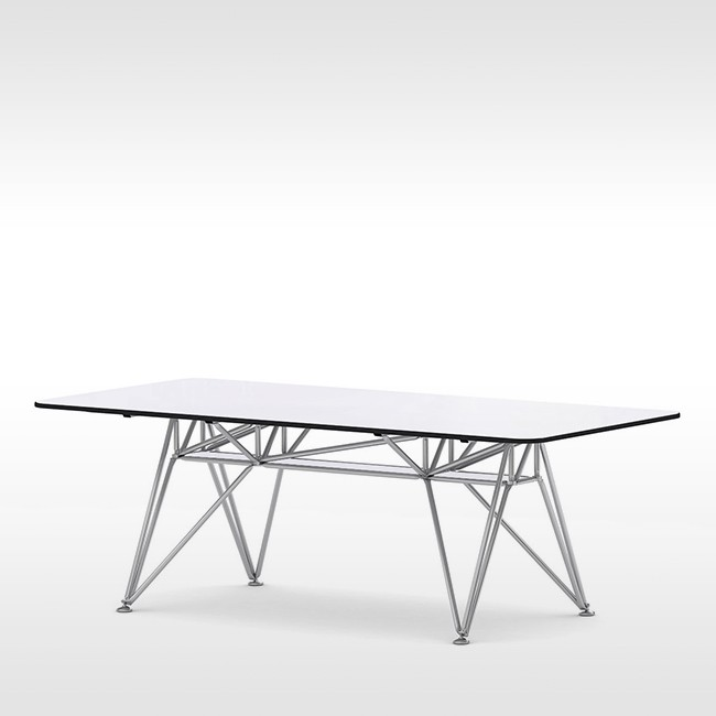 System 180 tafel K-Series Conference Table K21 SteelLine door System 180