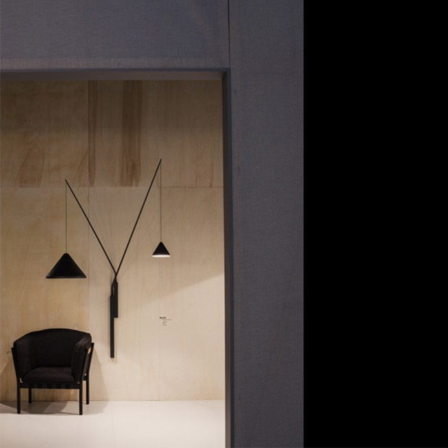 Vibia wandlamp North 5635. door Arik Levy
