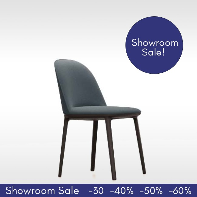 SHOWROOM SALE! Vitra stoel Softshell Side Chair (Plano) door Ronan & Erwan Bouroullec