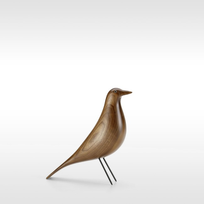 Vitra accessoires Eames House Bird Walnoot door Charles en Ray Eames