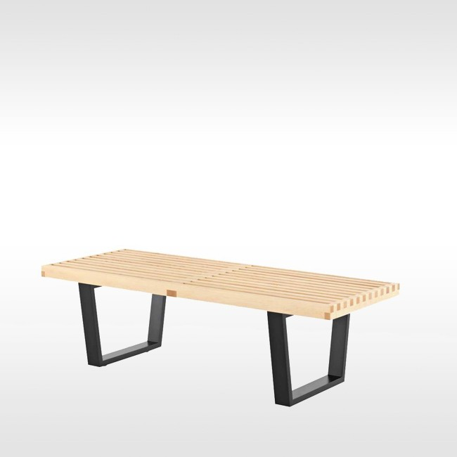 Vitra bank Nelson Bench Small door George Nelson
