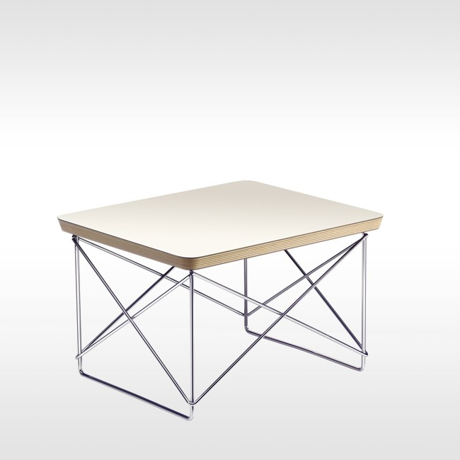 Vitra bijzettafel Occasional Table Chroom door Charles & Ray Eames