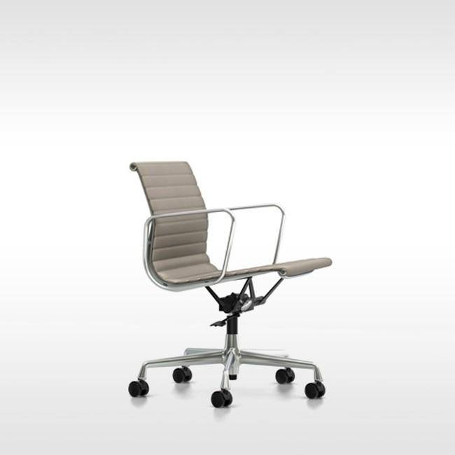 Vitra Eames Bureaustoel Ea117.Vitra Bureaustoel Aluminium Chair Ea 119 Stof Door Charles Ray