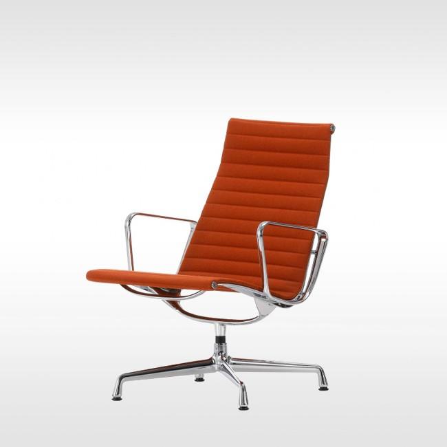Vitra stoel aluminium chair ea 108 stof door charles ray for Vitra fauteuil charles eames