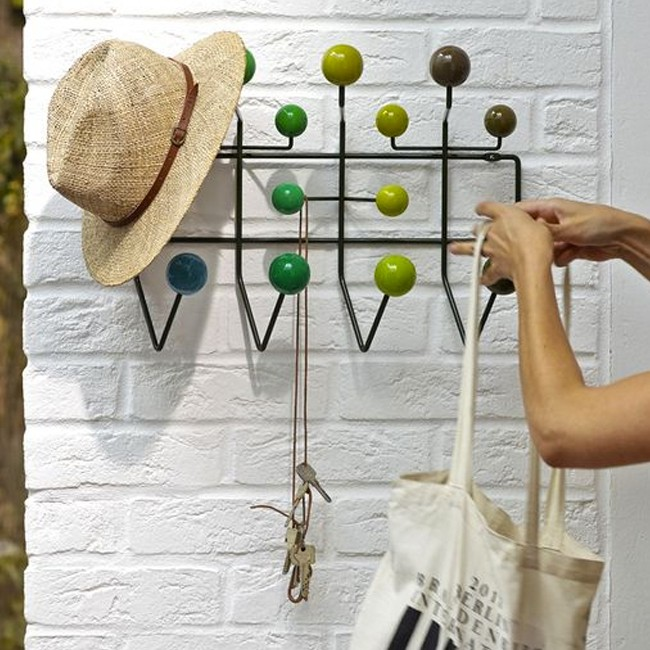 Vitra kapstok Hang it all gelakt door Charles & Ray Eames