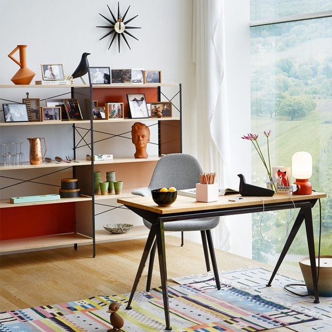 Vitra kast Eames Storage Unit ESU Shelf 2 door Charles & Ray Eames
