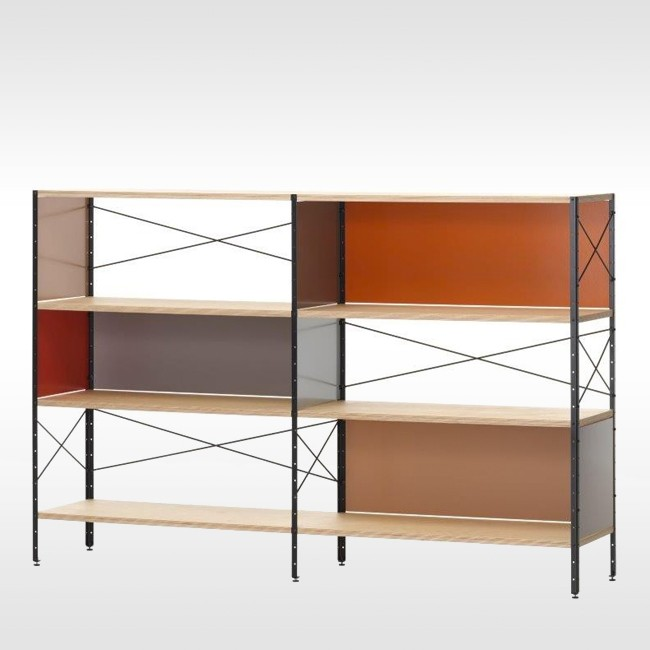 Vitra kast Eames Storage Unit ESU Shelf 3 door Charles & Ray Eames