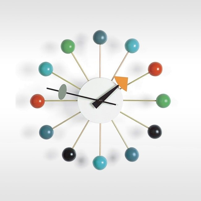 Vitra klok Ball Clock door George nelson