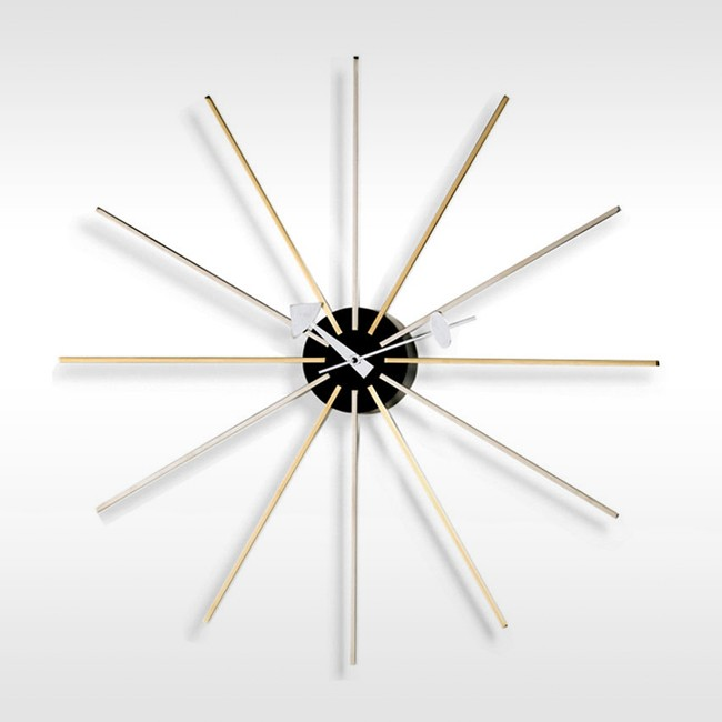 Vitra klok Star Clock door George Nelson