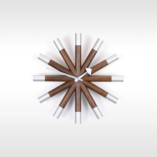 Vitra klok Wheel Clock door George Nelson