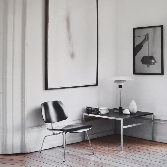 Vitra loungechair LCM Plywood Group door Charles & Ray Eames