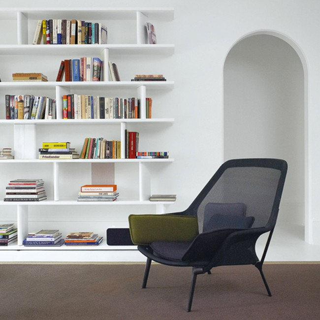 Vitra loungechair Slow Chair door Ronan & Erwan Bouroullec