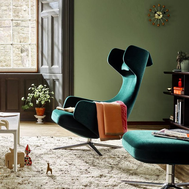 Vitra loungestoel Grand Repos door Antonio Citterio