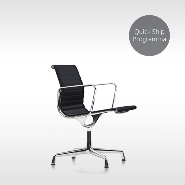 Vitra stoel Aluminium Chair EA 108 Quick Ship Programma door Charles & Ray Eames