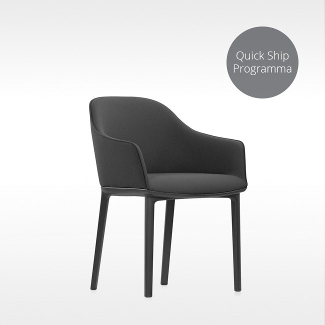 Vitra stoel Softshell Chair Quick Ship Programma door Ronan & Erwan Bouroullec