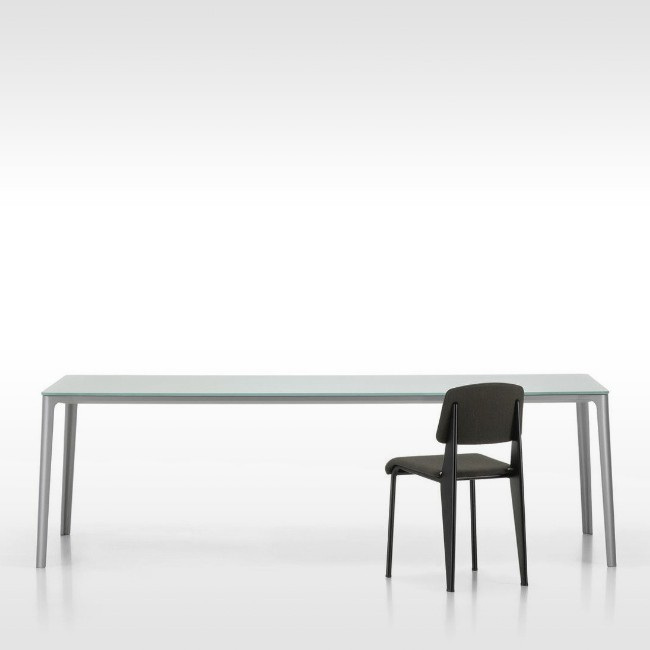 Vitra tafel Plate Dining Table Glas door Jasper Morrison