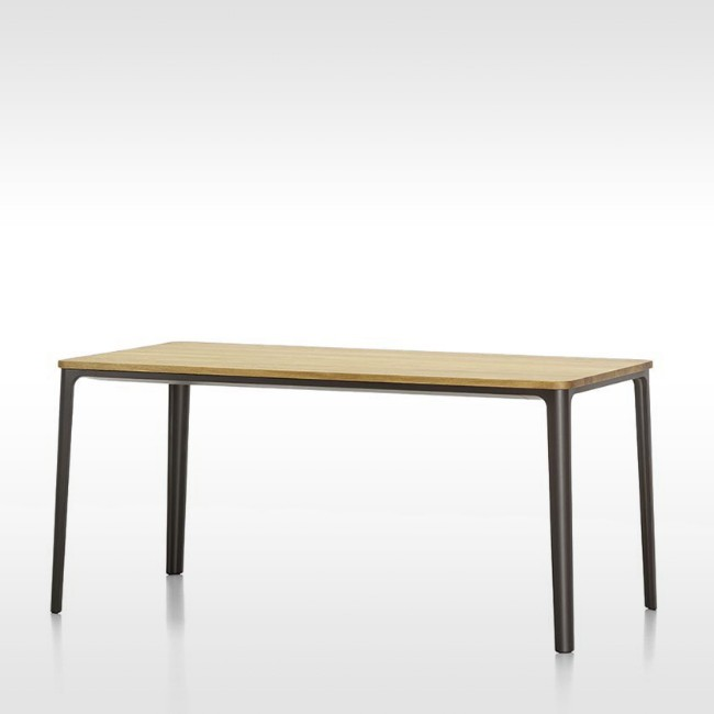 Vitra tafel Plate Dining Table Naturel Eiken door Jasper Morrison