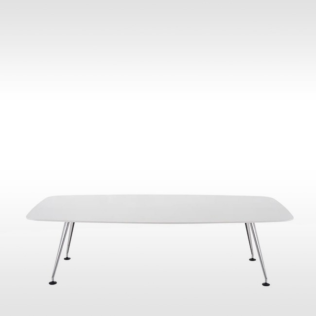 Vitra vergadertafel MedaMorph Meeting Table Bootvorm door Alberto Meda