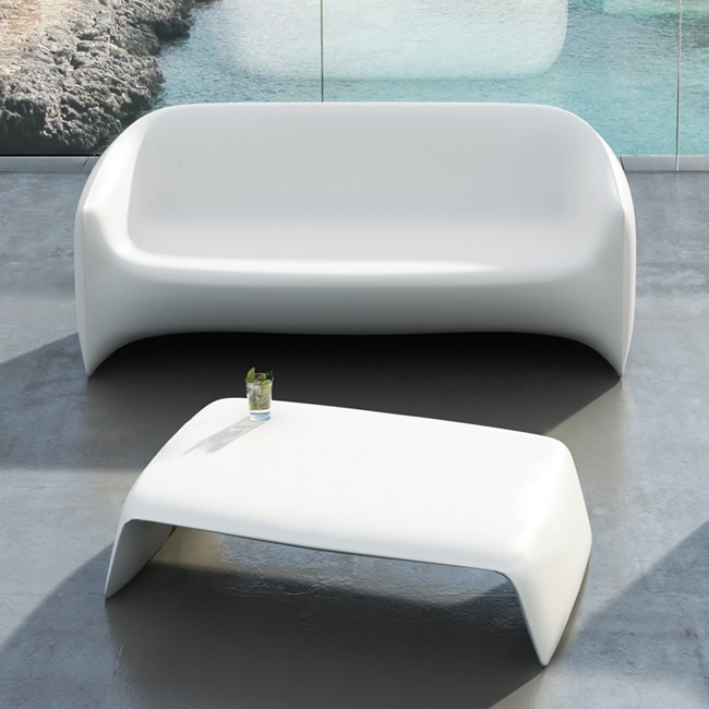 Vondom bank Blow Sofa door Stefano Giovannoni