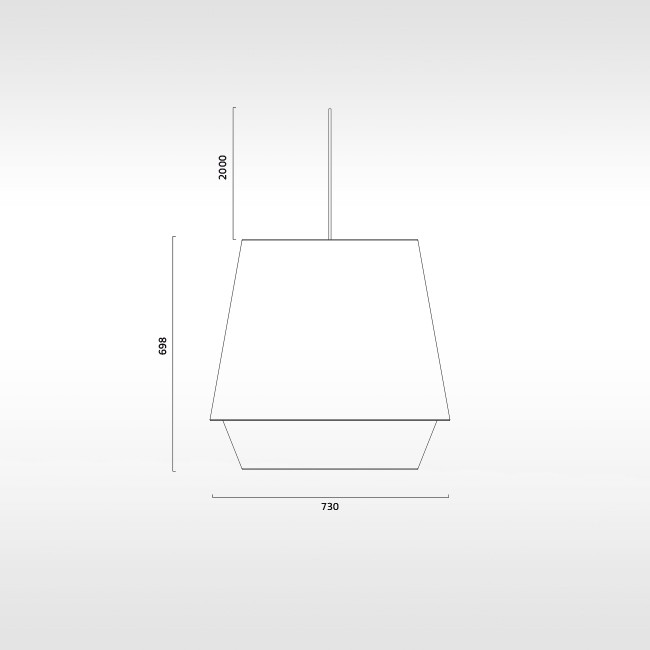 Zero hanglamp Elements XL door Note Design Studio