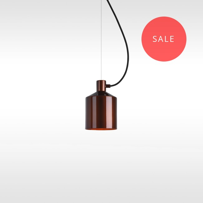 Zero hanglamp Silo Koper door Note Design Studio