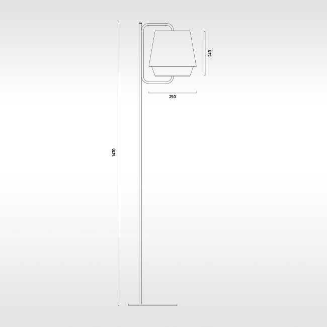 Zero vloerlamp Elements door Note Design Studio